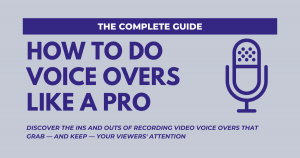 Quality Voice Over for YouTube Videos